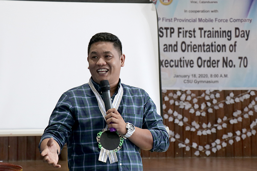 NSTP First Training Day and Orientation on Executive Order No. 70
